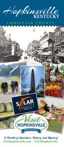 Hopkinsville Brochure Cover